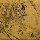 Gold Blossoms 2 by Karyn Fendley