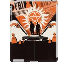 The two of us against the world iPad Case/Skin