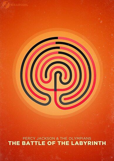Minimalist Poster: Percy Jackson 4/5 by Risa Rodil