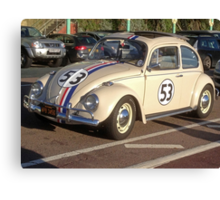 Herbie 53 in Brighton Canvas Print