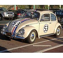Herbie 53 in Brighton Photographic Print