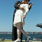The Kiss, San Diego by Malcolm Katon