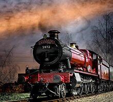 Hogwarts Express by missmoneypenny