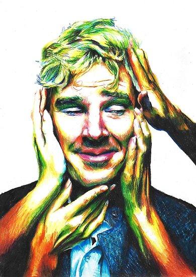 Benedict Cumberbatch (Jaguar Photoshoot) by Shuploc