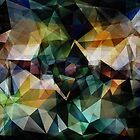 Colorful Geometric Abstract by perkinsdesigns