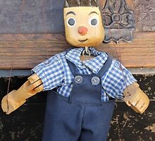 old wooden puppet by spetenfia