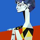 Jacqueline -Picasso- by Alice Protin