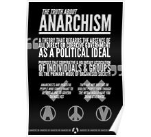 The Truth About Anarchism Poster