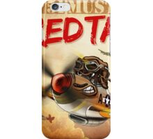 "WINGS Series ""P-51 RED TAILS"" iPhone Case/Skin"