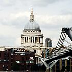 St Paul's Cathedral From Over The Thames by Selena Chaplin