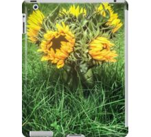 Sunflowers In August iPad Case/Skin