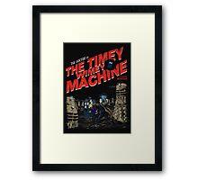 The Timey Wimey Machine Framed Print