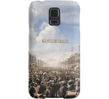The Rex pageant, Mardi Gras Day, New Orleans, 1907 Colorized Samsung Galaxy Case/Skin
