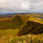 Cribyn - Brecon Beacons by Paul Bettison