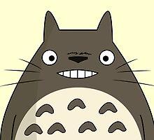 Totoro Smile by limon93