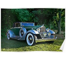 1933 Packard 1006 Convertible 2 Poster