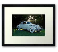 1930's Packard Convertible Coupe Framed Print