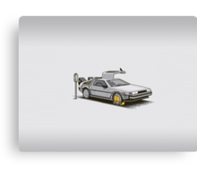 Delorean DMC-12 Canvas Print