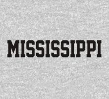 Mississippi Jersey Black by USAswagg