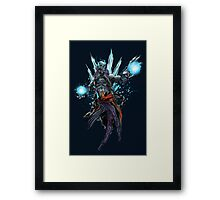The Lich King! Framed Print