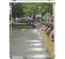Fountain at Copley Place Boston iPad Case/Skin