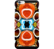 Ferro fluid flower iPhone Case/Skin