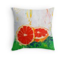 Like Shoving a Grapefruit in Your Face Throw Pillow