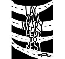 Lay Your Weary Head To Rest Photographic Print