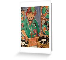 Go DJ Greeting Card