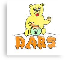 DABS - honey bear Metal Print