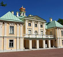 Palace in classical style by mrivserg