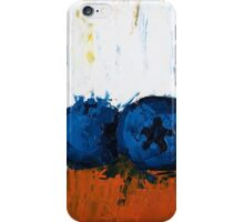 Blueberries on Ice iPhone Case/Skin