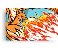 Charizard | Heat Wave Canvas Print