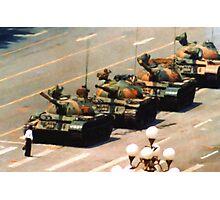 Tank Man Painting Photographic Print