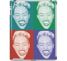 Miley meets Warhol iPad Case/Skin