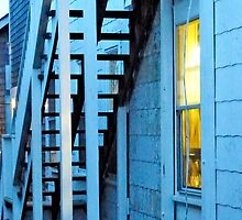 Stairs At Dusk by phil decocco