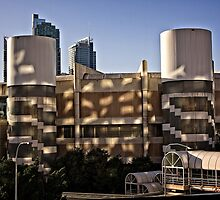 Light and Shadow on the Sydney Convention Centre (1) by Wolf Sverak