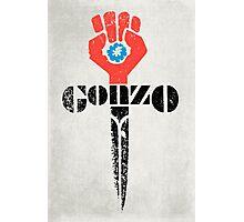 Gonzo Fist Photographic Print