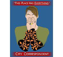The City Correspondent Photographic Print