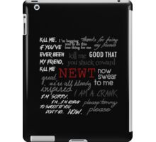 Memorial to Newt iPad Case/Skin