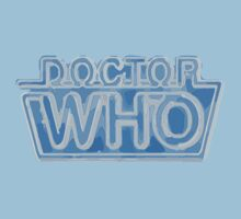 Classic Doctor Who Frozen Logo by SpyderAcidburn