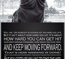 Rocky Balboa Poster by gentilj17
