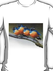meet the snarkers- the original angry birds T-Shirt