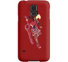 Shulk Typography Samsung Galaxy Case/Skin