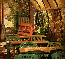 A Cafe in Nannup by Elaine Teague