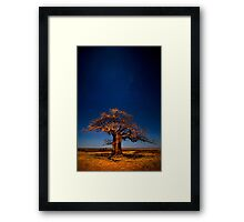 Full Moon Fantasy Framed Print