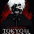 Kaneki Ken - White Haired Masked by 666hughes