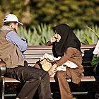 Park Bench Conversation - Sydney Street Photography by Wolf Sverak