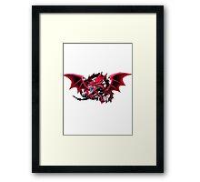 slifer the sky dragon Framed Print