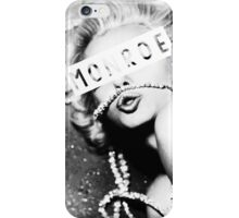 Monroe #2 iPhone Case/Skin